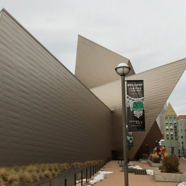 PIcture of art museum in Denver