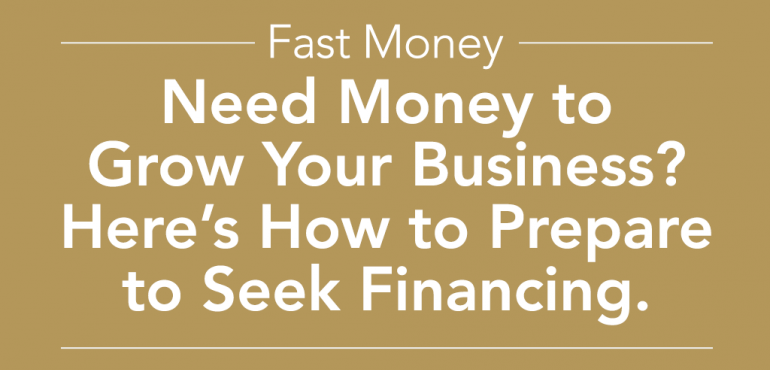 Need Money to Grow Your Business