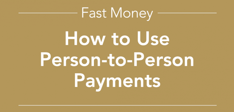 picture of how to use person to person payments